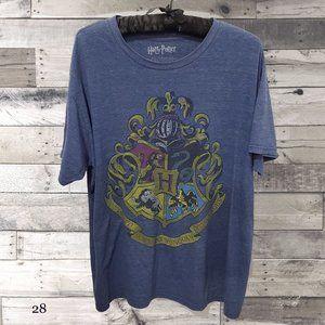 Harry Potter Hogwart's Crest T-Shirt Size L